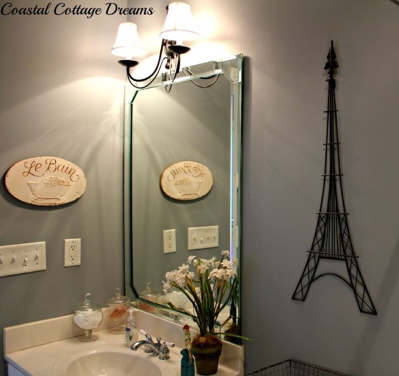 Eiffel Tower Bathroom Set - Everyone would like to have a ...