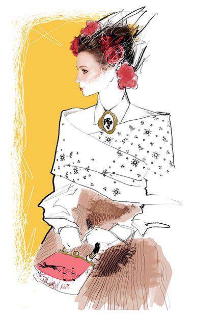 Maya Beus fashion illustrator | Digital