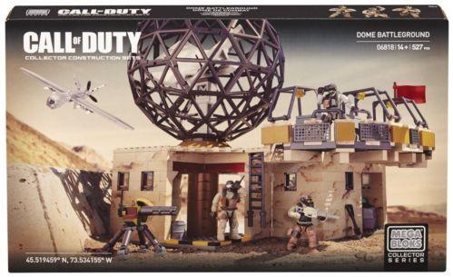 Mega Bloks Call Of Duty Dome Battleground 06818 527 pcs Collector Series New