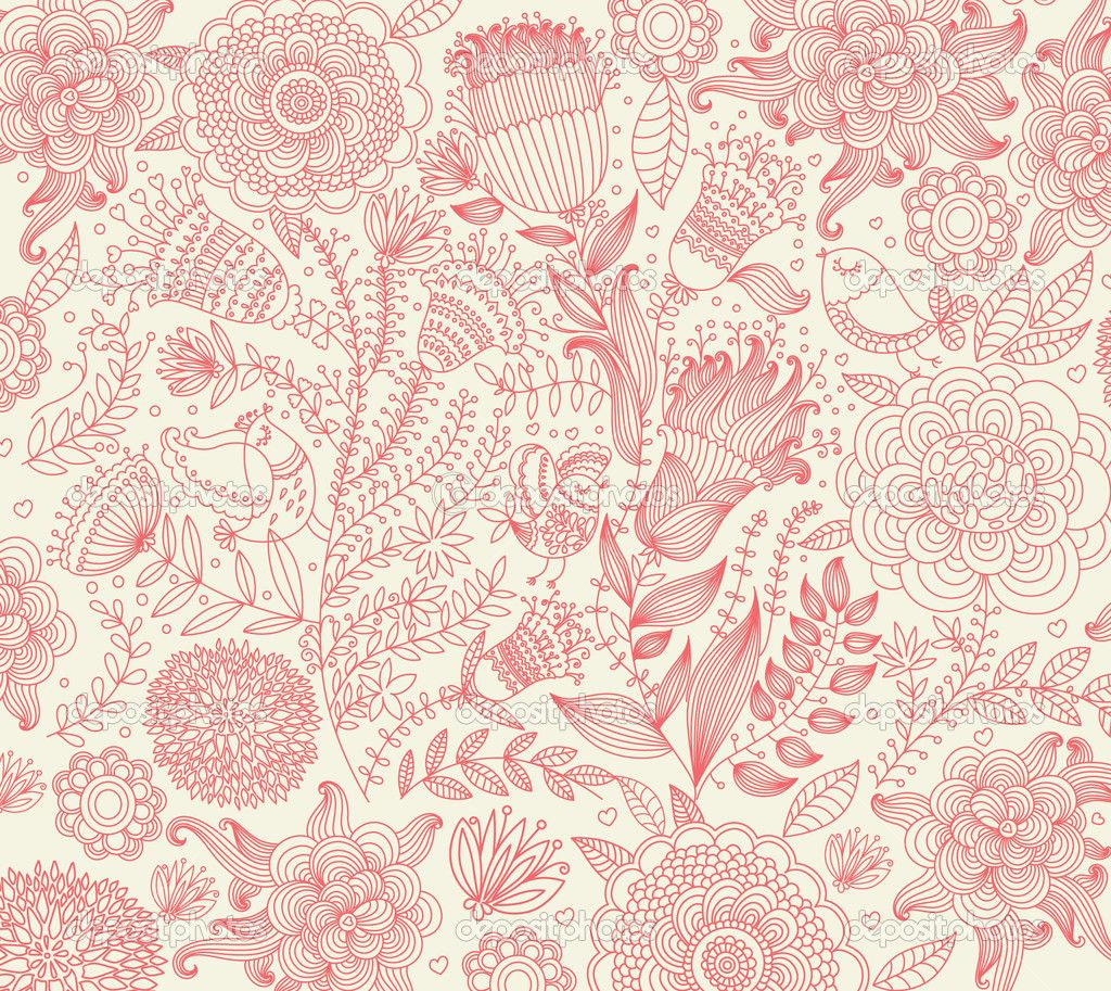 french wallpaper patterns Classical wallpaper with a