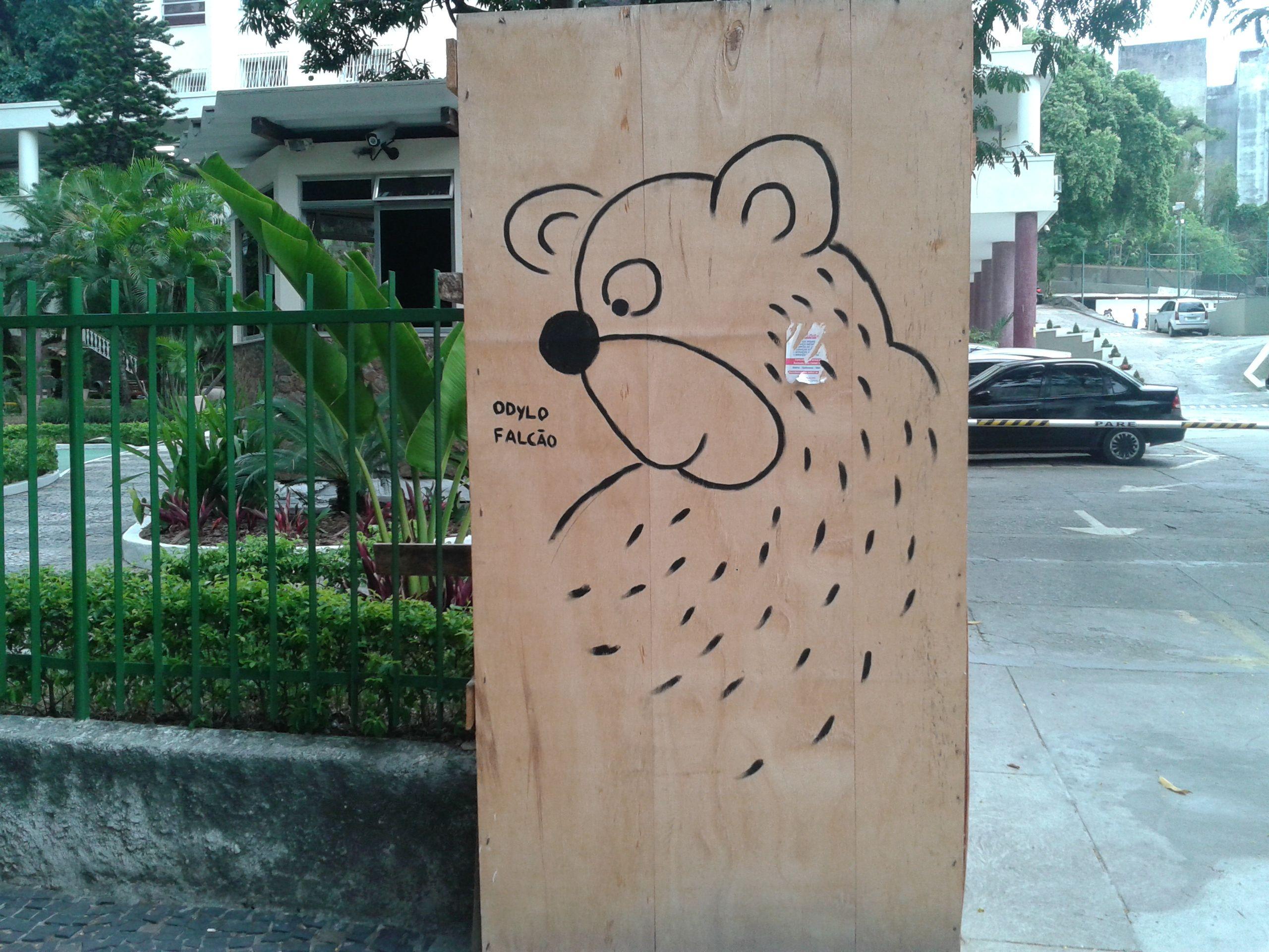 Arte urbana em Laranjeiras