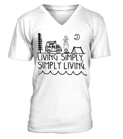 3fc3a8ecb Camping-Living-simply---Simply-living camping t shirts, camping t ...
