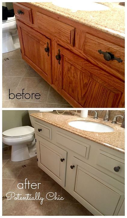 Master Bathroom Vanity Makeover Inspiration With Images