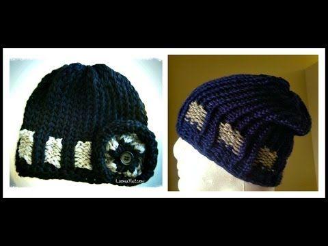 Loom Knit Hat - The Belt Loom - LoomaHat.com | Telar Redondo ...