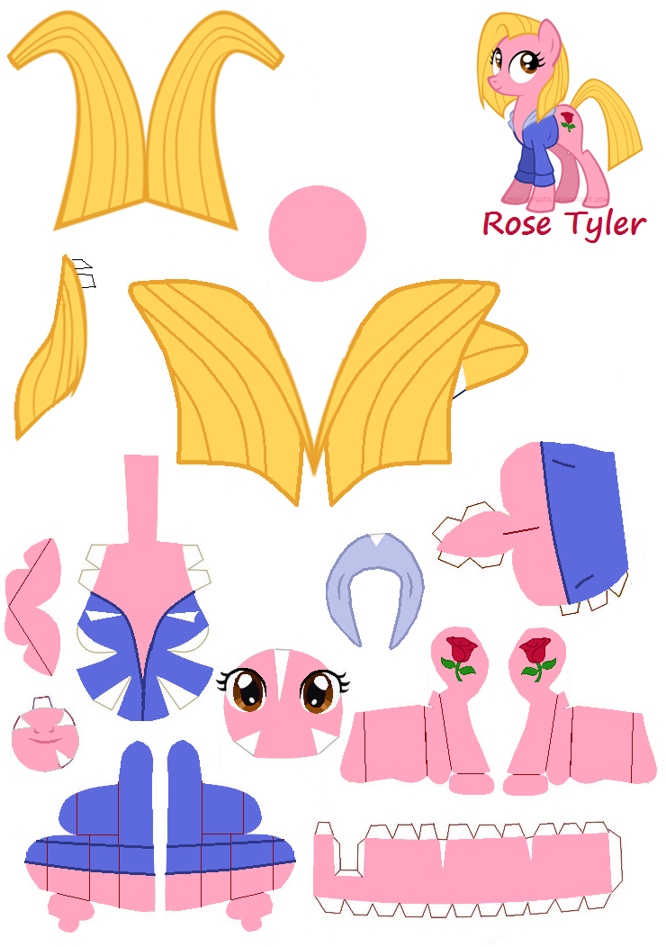 My little pony rose tyler - photo#3