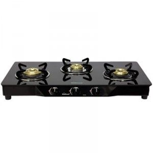 For 3499 50 Off Sunflame 3 Burner Glass Top Gas Stove Pearl At Shopcj Deals4india In Best Gas Stove Gas Stove Stove