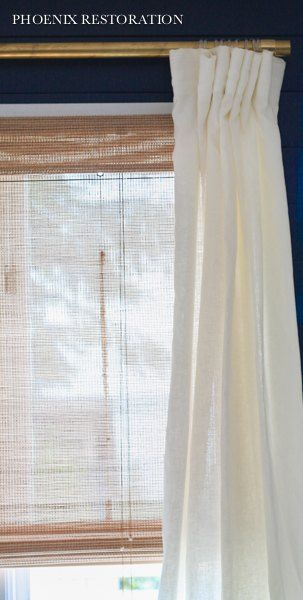 High End Brass Drapery Rods On The Cheap Drapery Rods Diy Curtain Rods Diy Curtains