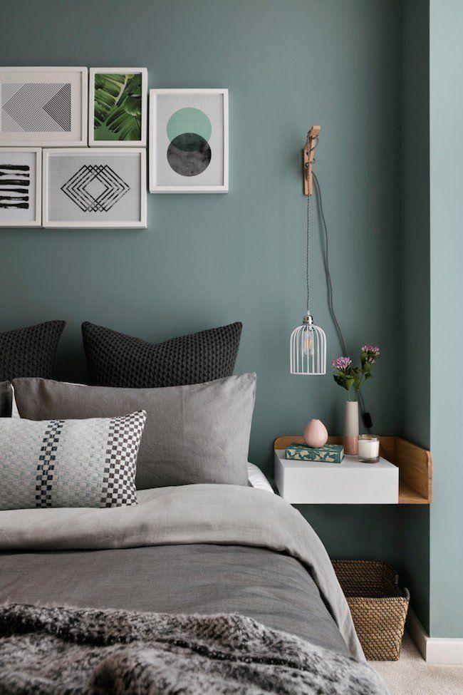 Das Schlafzimmer im modernen, skandinavischen Design! Schöne und ...