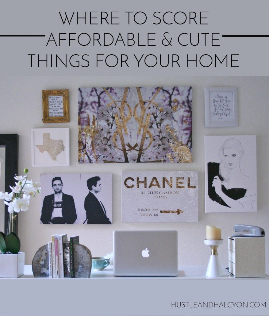 Affordable Home Decor Online: Where To Score Affordable Home Decor (That Actually Rocks
