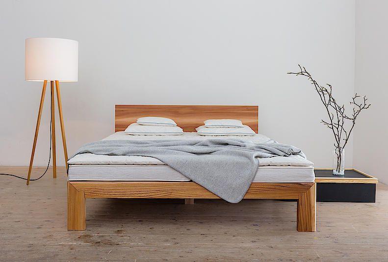 Metallfreie Holzbetten Aus Handfertigung Mit Bildern Holzbetten Holzbett Bett