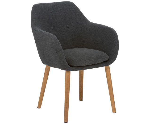 ein bequemer klassiker der zierliche armlehnstuhl kopenhagen berzeugt mit einem ansprechenden. Black Bedroom Furniture Sets. Home Design Ideas