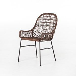 Bandera Woven Dining Chair Low Arm