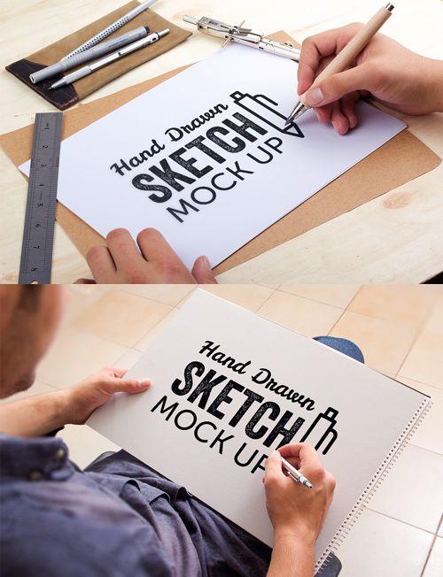 Fresh Free Photoshop PSD Mockups for Designers (27 MockUps ...