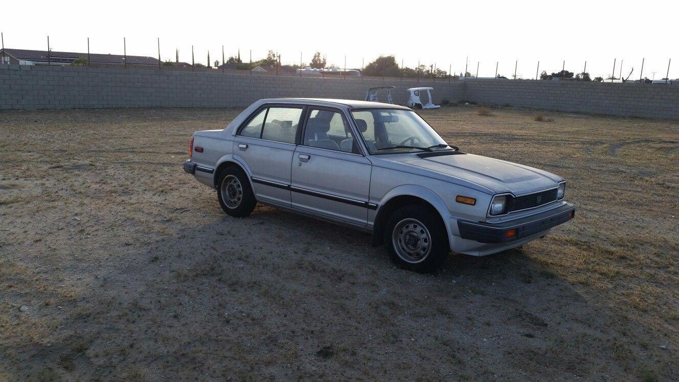 Nice Amazing 1982 Honda Civic SEDAN used cars for sale ebay motors ...