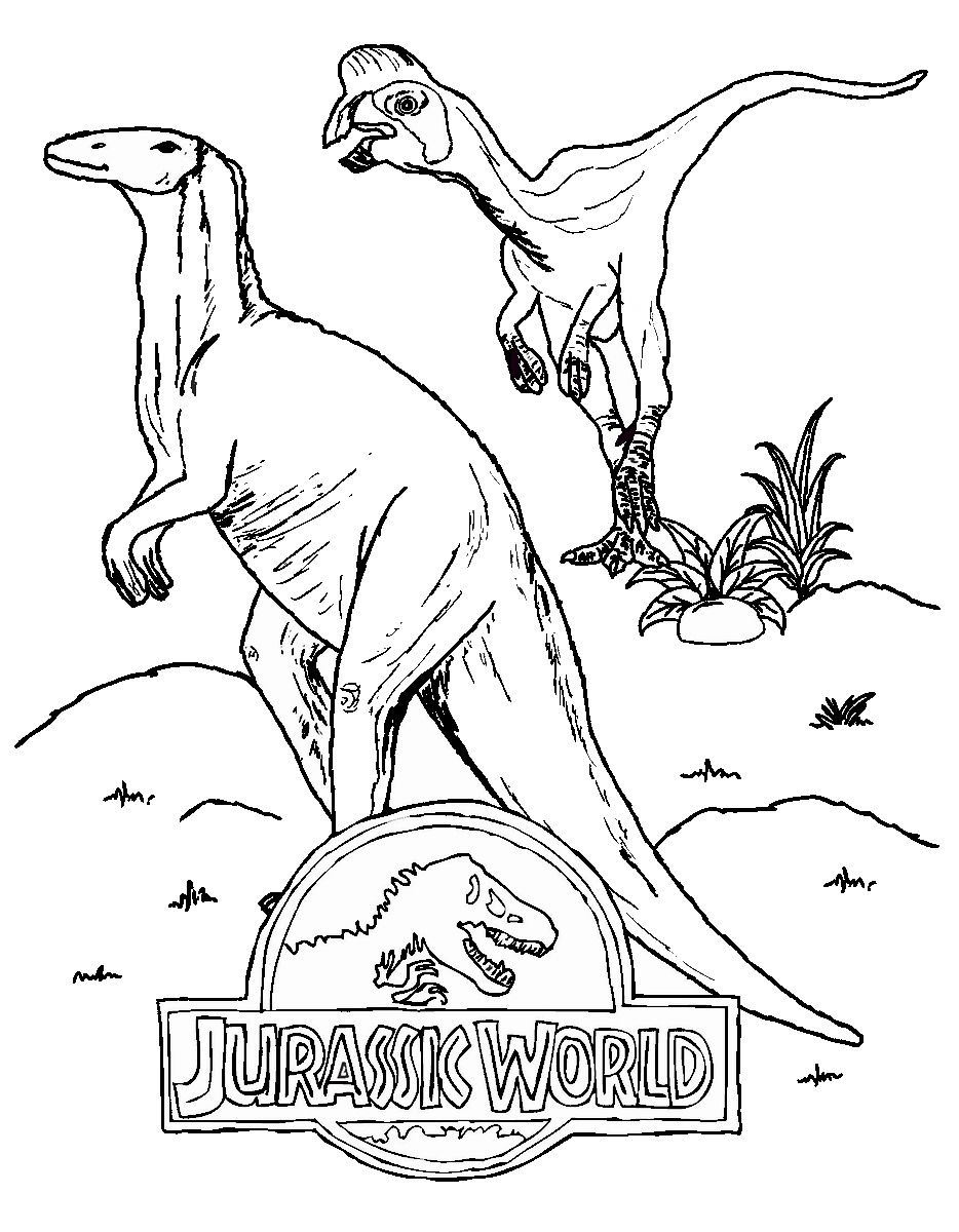 Jurassic World Coloring Pages With Images Dinosaur Coloring