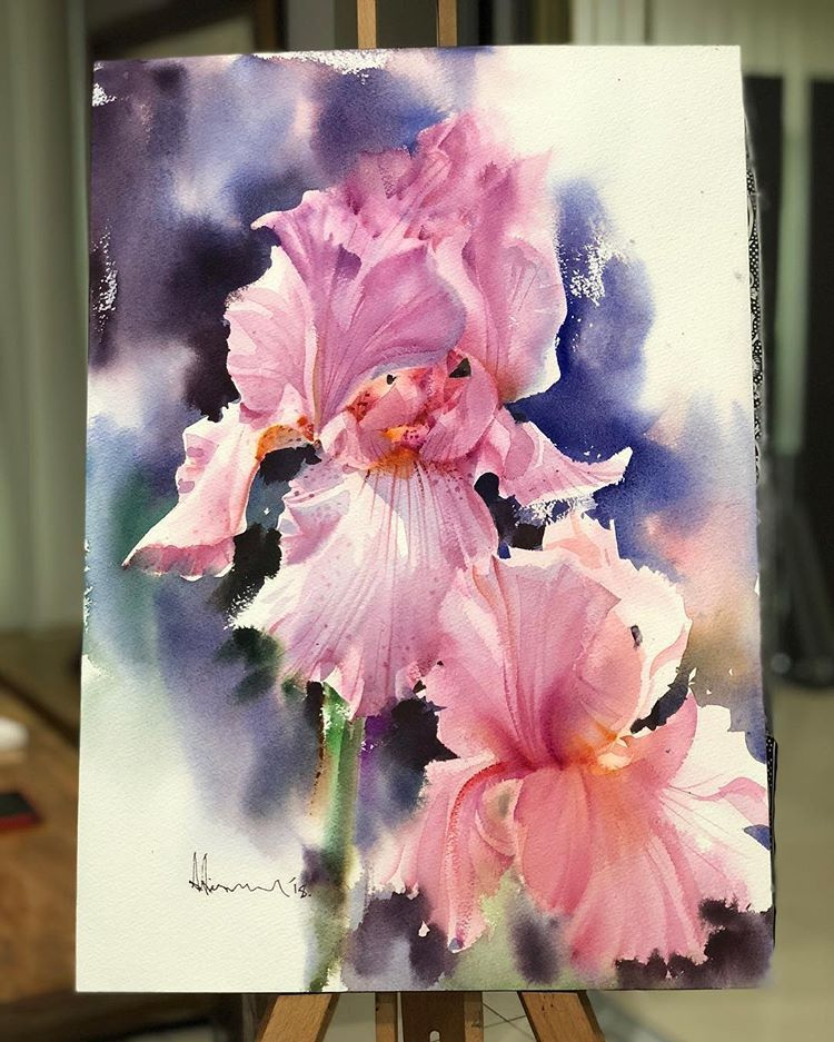Watercolor Blog Watercolor Blog Instagram Photos And