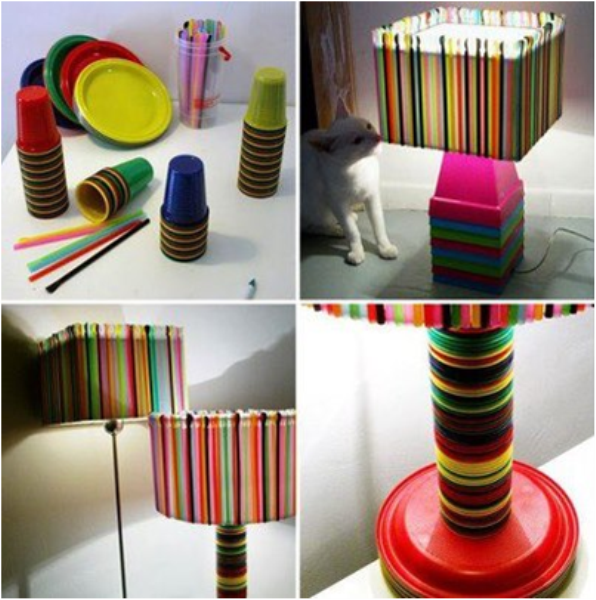Decorative Ideas From Recycled Objects A Practical Idea