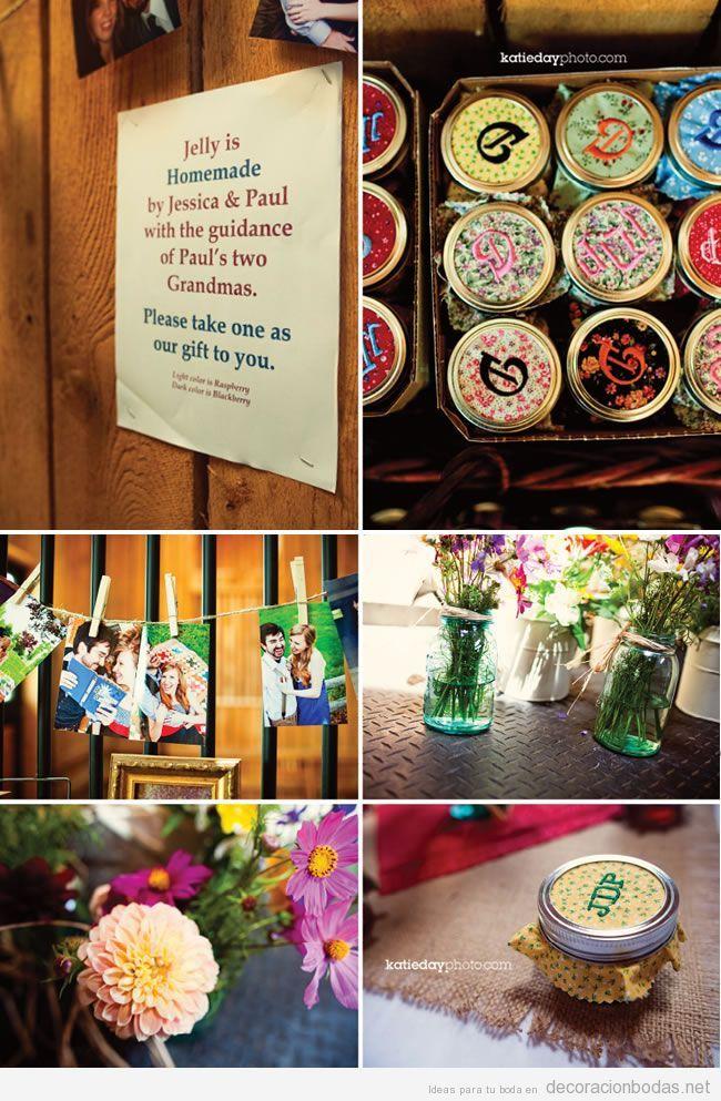Detalles diy o manualidades para decorar boda en for Antorchas para jardin caseras