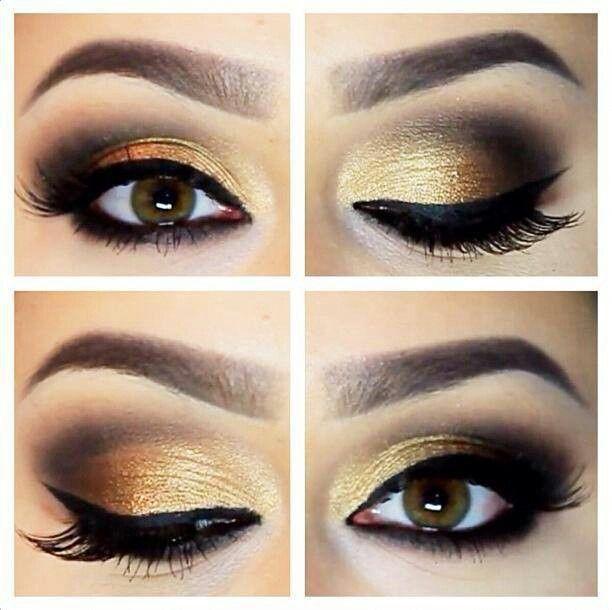Love It Gold Wedding Makeup Gold Makeup Wedding Makeup