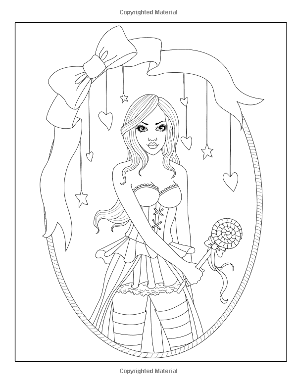 Spellbinding Images: A Fantasy Coloring Book (Volume 3): Nikki ...