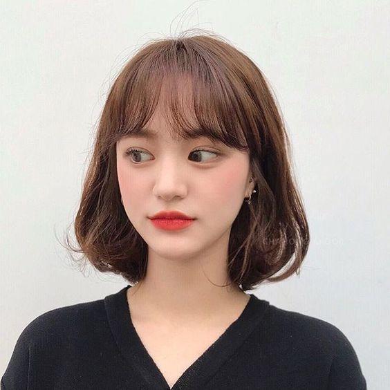 Beautiful Korean Hairstyle Female 2020 In 2020 Shot Hair Styles Asian Short Hair Kpop Short Hair