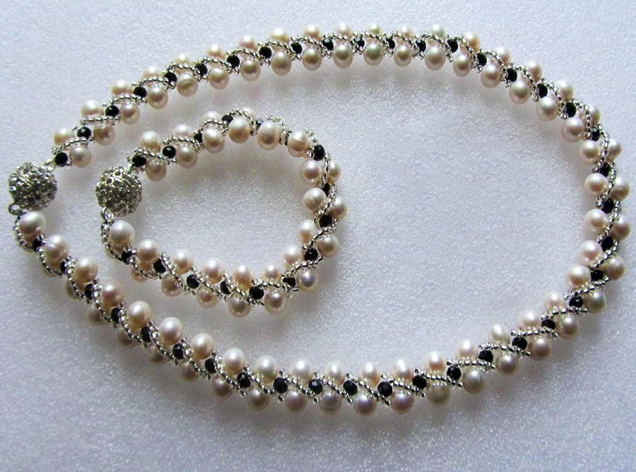 Free Pattern For Necklace Josefine Click On Link To Get