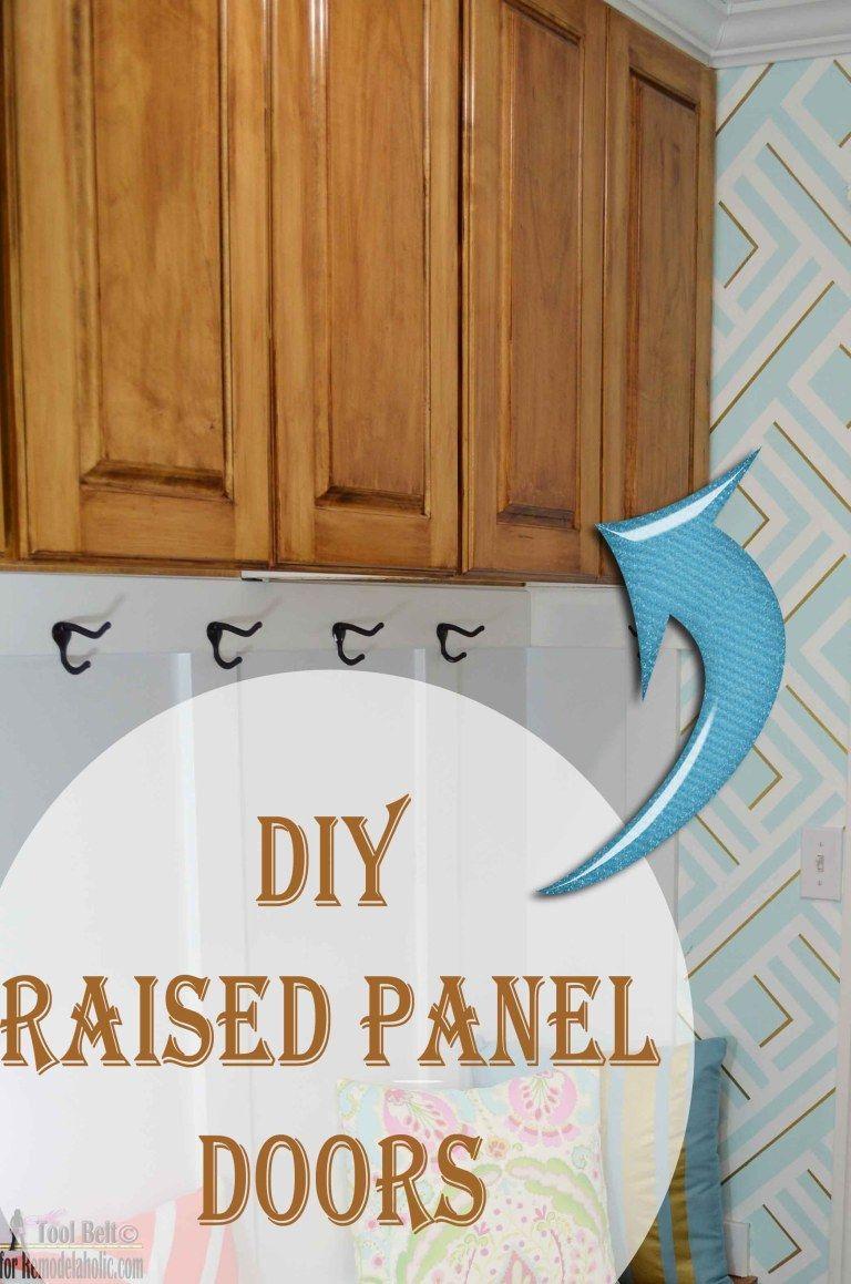 DIY raised panel doors   Shaker cabinet doors, Raised ...