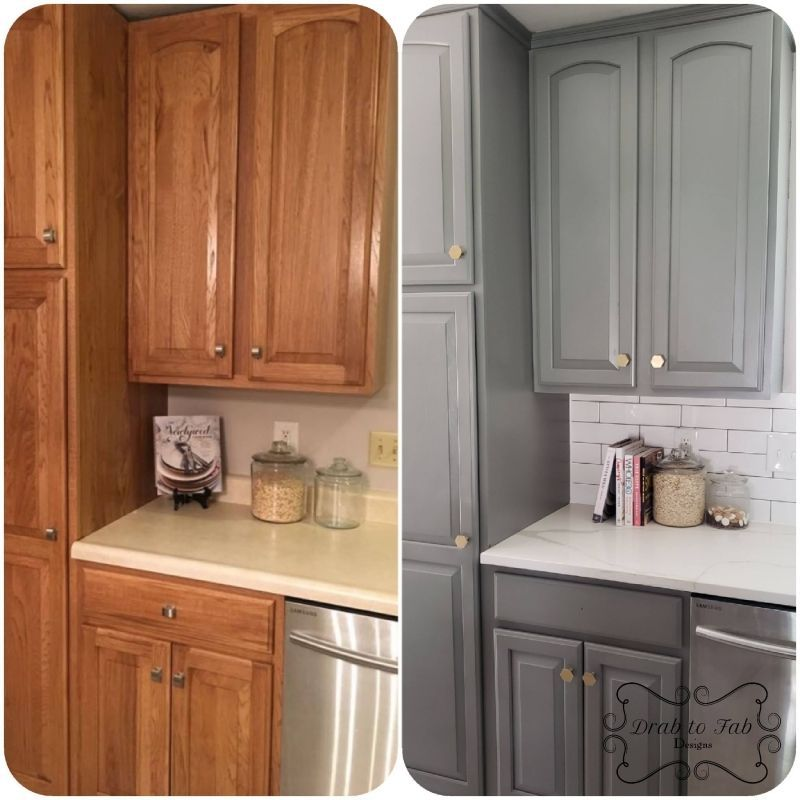 Perfect Gray Kitchen Cabinets | General Finishes Design Center        Perfect Gray Kitchen Cabinets | General Finishes Design Center