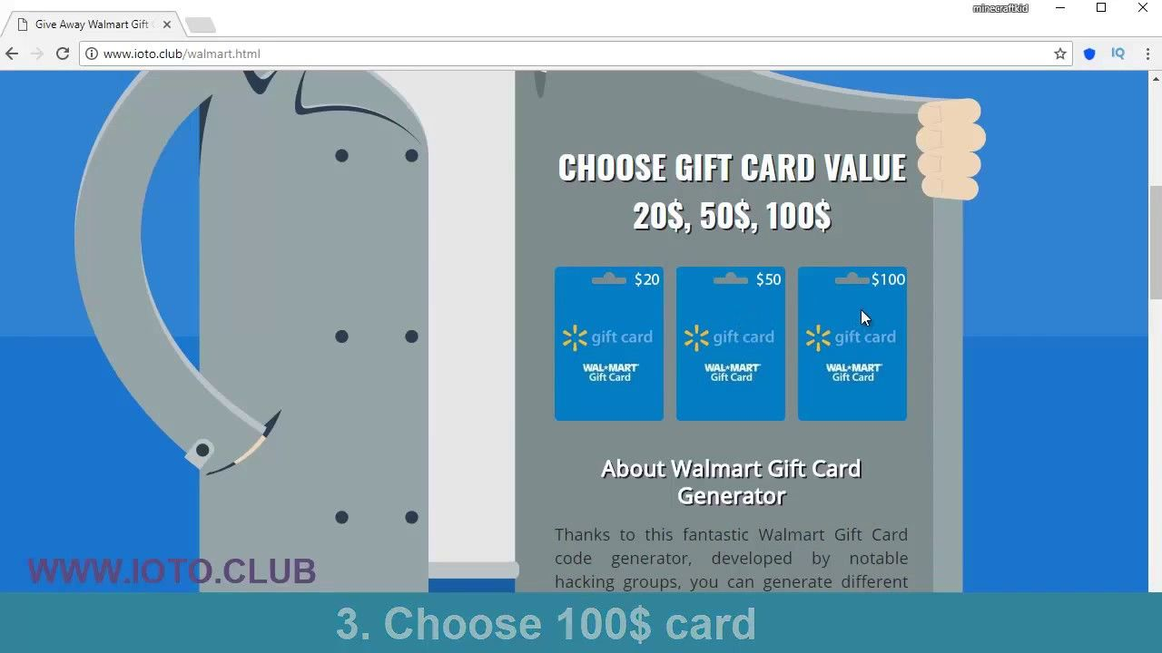 New Site Walmart Free Gift Card Or Walmart Gift Card And How To Get