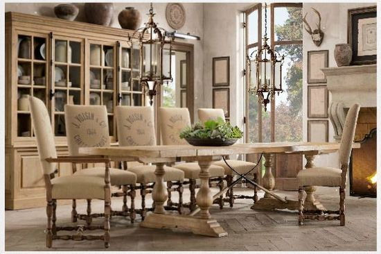 French Country Dining Room Furniture | Blog | Dining Room & Off ...