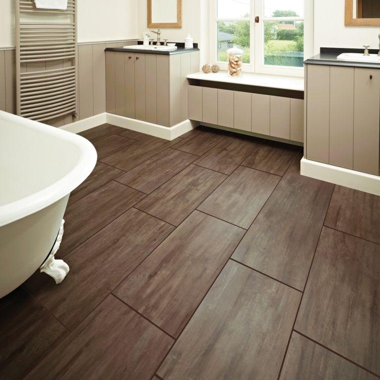 20 Best Bathroom Flooring Ideas, Laminate Wood Flooring In Bathroom
