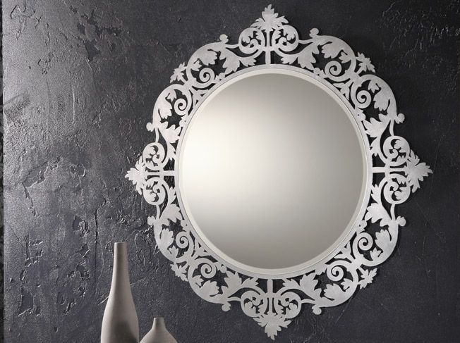 45 Decorative Wall Mirrors By Riflessi Mirror Decor Mirror Wall Decor Classic Wall Mirrors