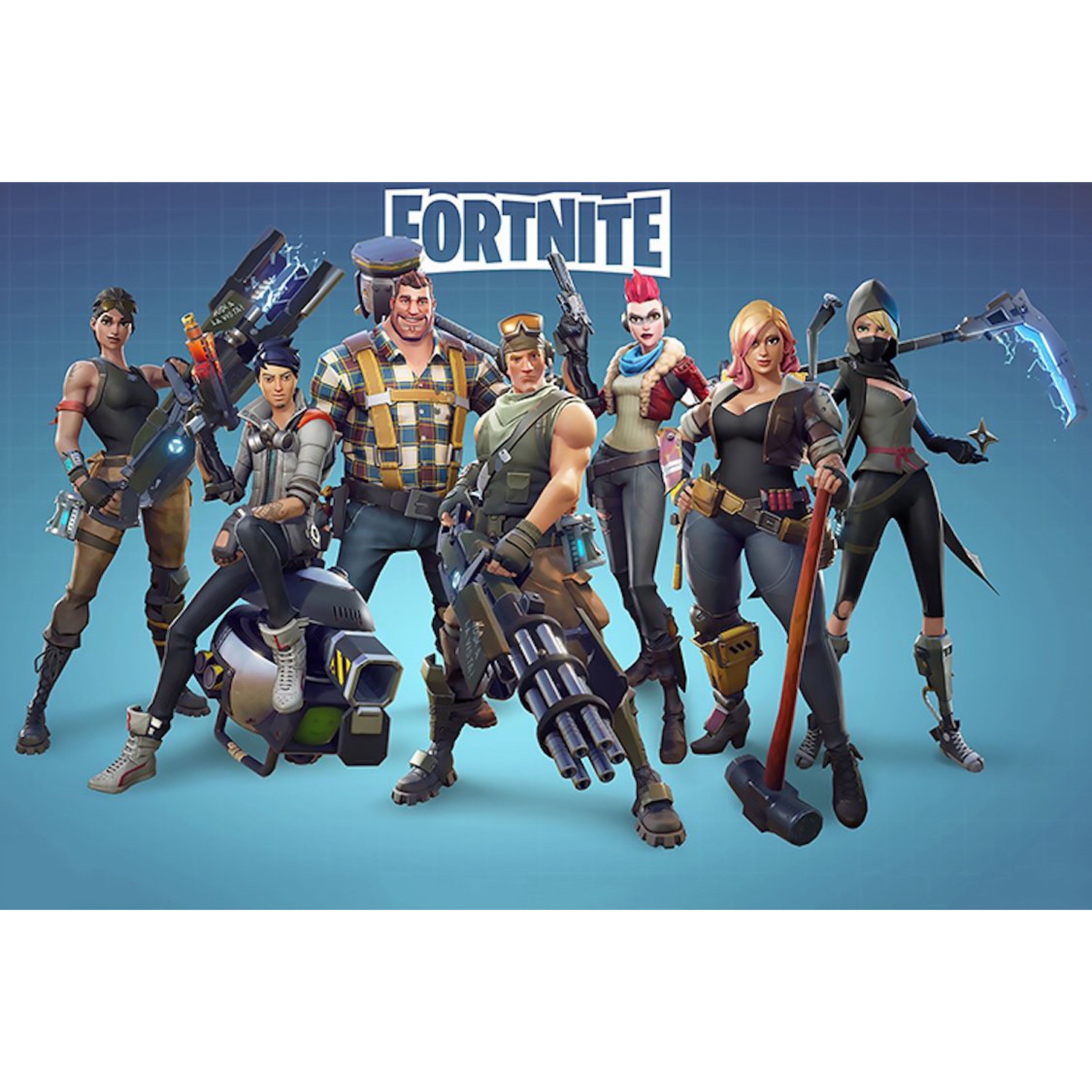 This Is A Fortnite Characters Video Game Poster Reproduction It Measures 24 X 36 In Size And Ships Rolled Battle Royale Game Gaming Wall Art Poster Wall Art