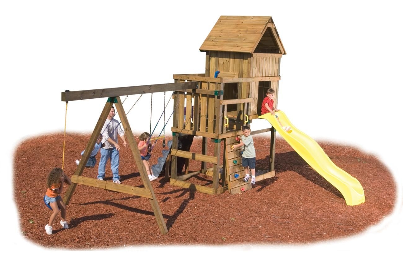 Custom Diy Kodiak Play Set Hardware Kit Kids Harryson Backyard