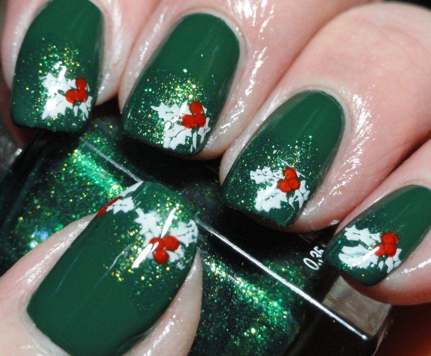 Christmas #nail #nails #nailart | nails | Pinterest | Uñas navidad ...