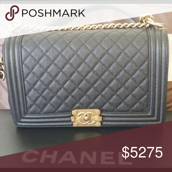 27327f483c27 Chanel New Medium Quilted Boy Flap Bag Like new, all the tags and card  included with the original box and dust bag. MADE IN FRANCE and not made in  Italy.