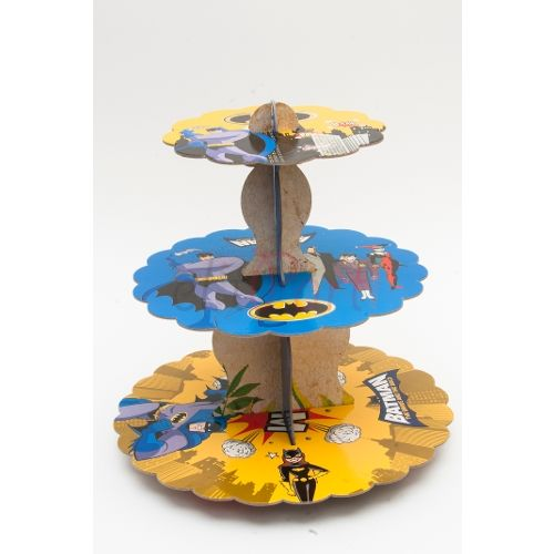 Batman Karton Cupcake Standı - 8.99 ₺