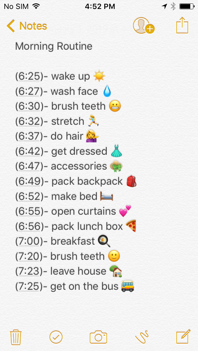 Pin by erin riley on High school ! in 2019 | Morning routine
