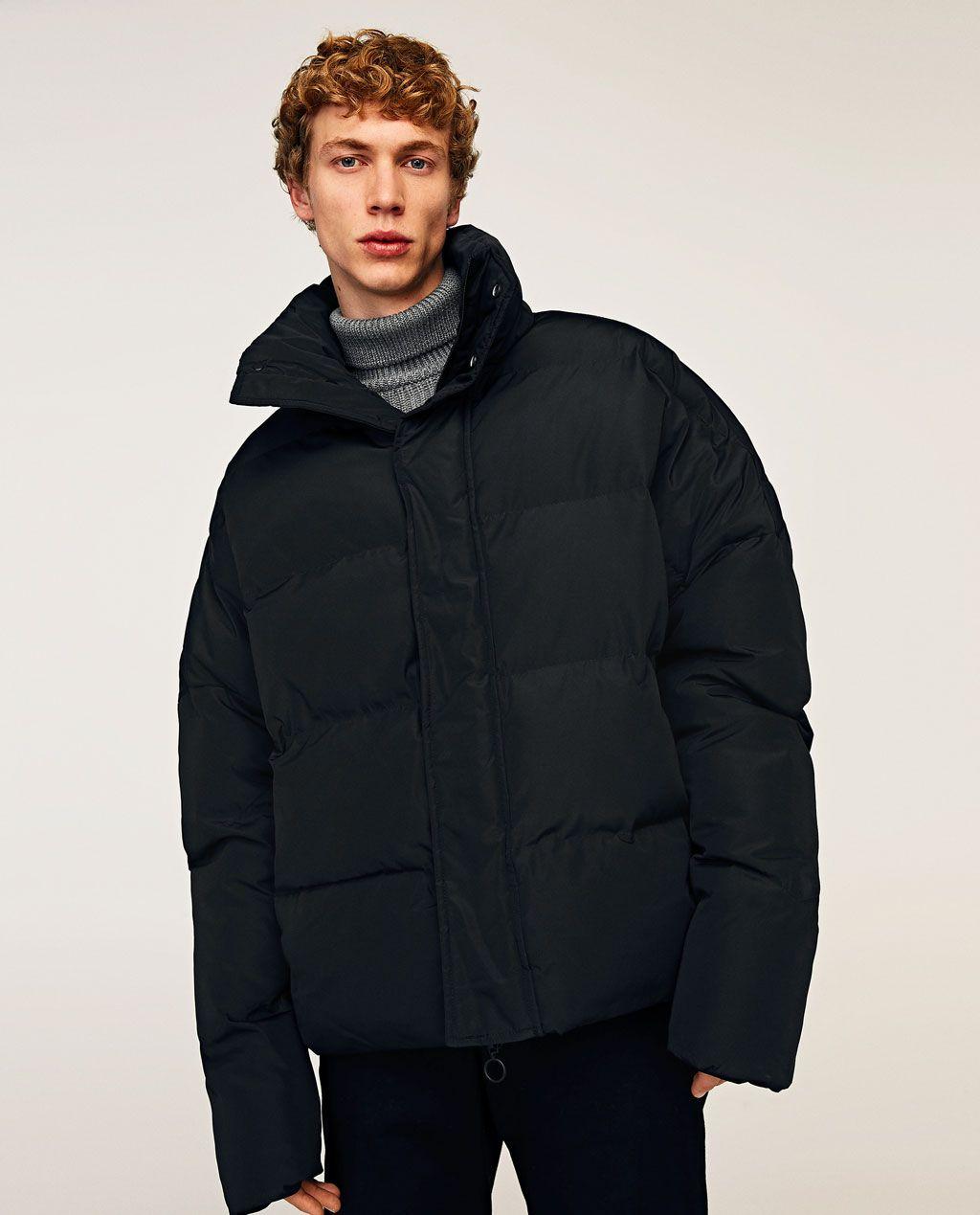 Puffer Jacket New In Man Zara United States Jacken