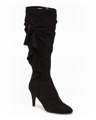 Tenure Ruffle Boot - Boots & Booties - T.J.Maxx