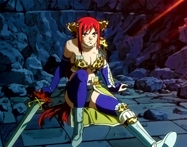 Flight Armor Erza scarlet, Scarlet and Manga