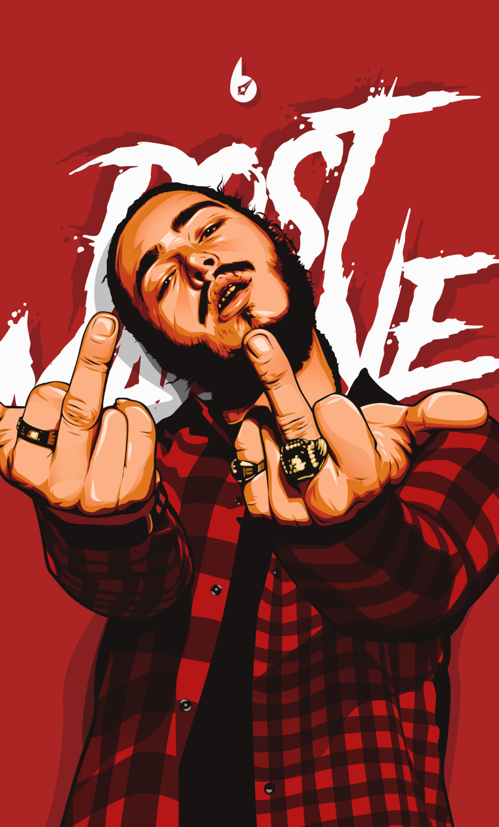 1280x2120 Post Malone Digital Art 4k Iphone 6 Hd 4k Wallpapers Images Backgrounds Photos And Pictures In 2020 Post Malone Wallpaper Post Malone Hip Hop Art