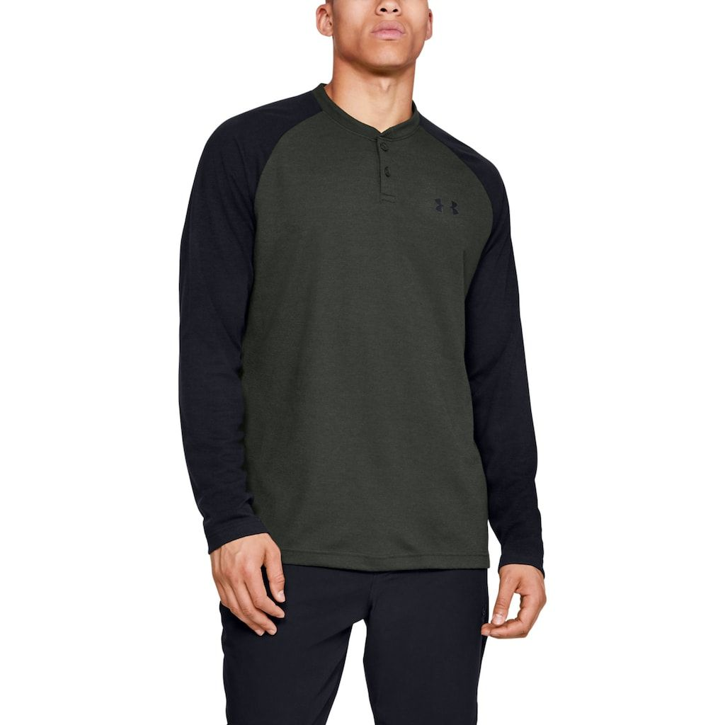 Under Armour Mens Coldgear Infrared Henley Shirt