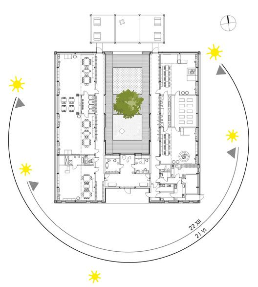Yellow elephant kindergarten xystudio kindergarten for Innenraumdesign studieren