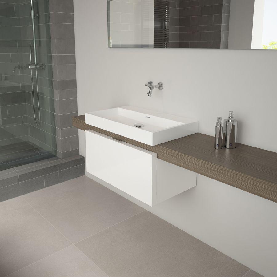 Clou - Match Me badkamer met wandgemonteerde fonteinkraan, een ...