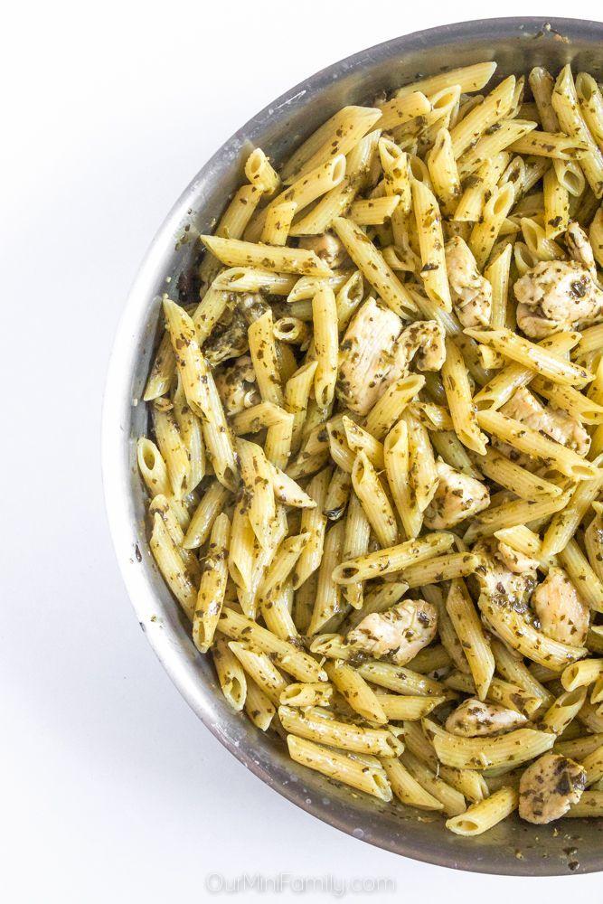 One Pan Pesto Chicken Pasta Best Comfort Foods Pinterest Pasta