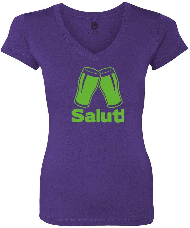Catalan Cheers (Green) Women's Short-Sleeve V-Neck T-Shirt