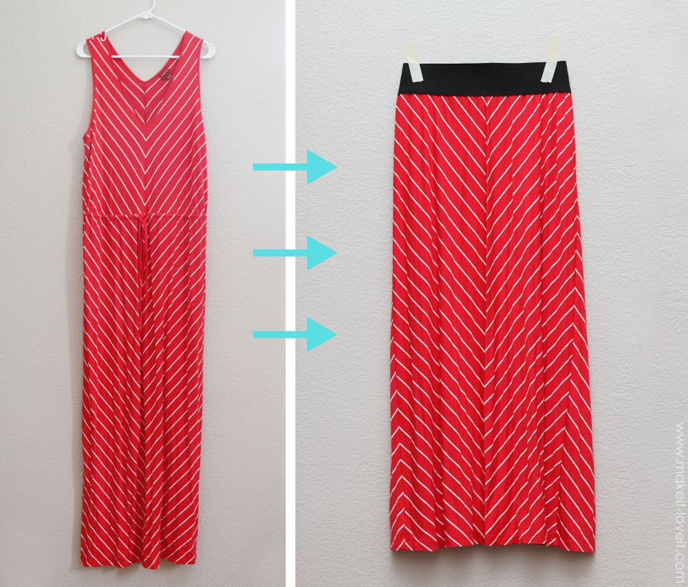 Turn a Maxi Dress...into a Maxi Skirt {in MINUTES | Sewing ...