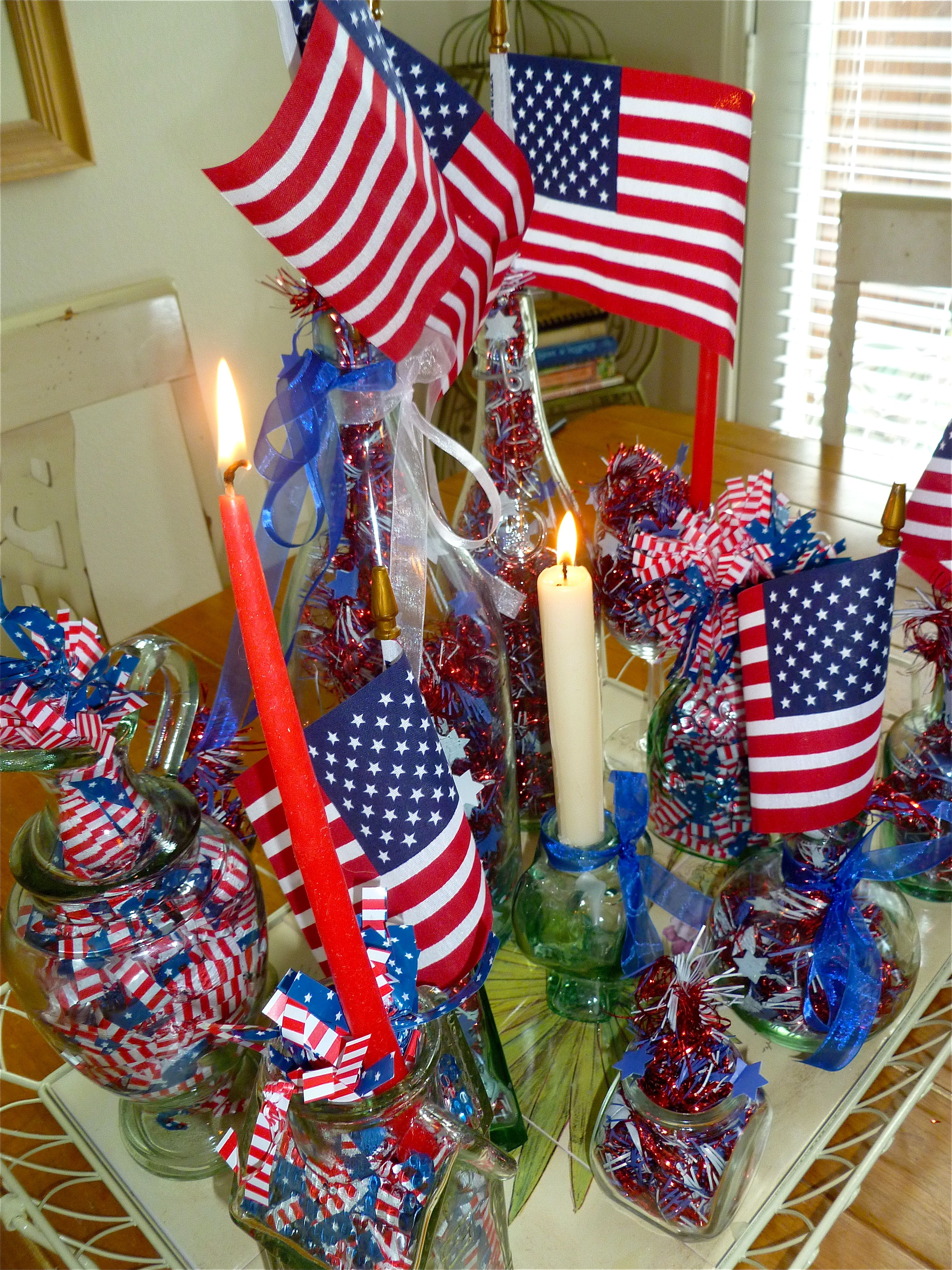Fourth Of July Wreath Dollar Stores