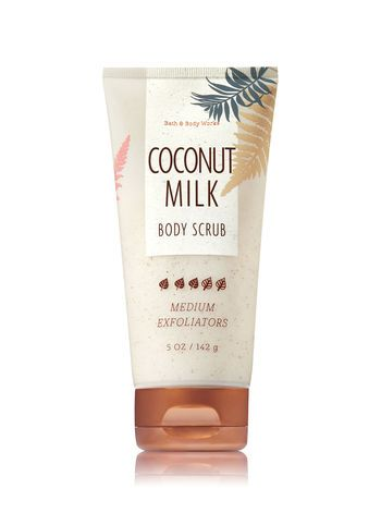 Coconut Milk Body Scrub Bath And Body Works Bath And Body Works